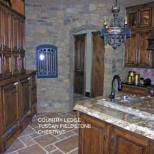 Let's Get Cooking! Kitchen & Hallway Concepts Magnified With Stone Veneers