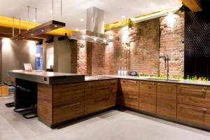 Rustic brick veneer textures