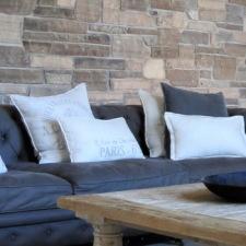 DIY home decor with a unique Quartzite stone sparkle.