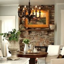 Our fireplace brick stone is the perfect home decorator. It's the hardest working stone in town.