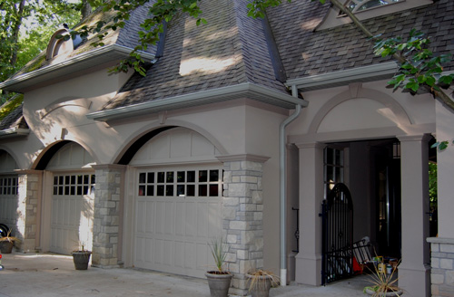Stone selex has some home improvement tips on how to for Stucco stone exterior designs