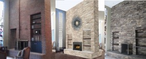 Stone Fireplace Designs-Wood Burning Fireplace
