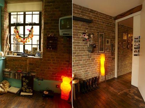 Atmosphere With Interior Brick Veneer