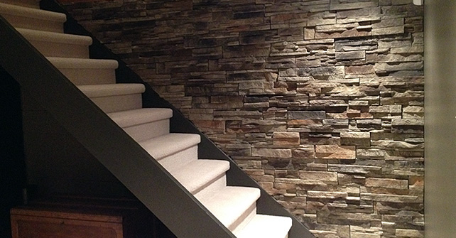 Fake Stone Walls Faux Stone Interior Walls Accent Wall