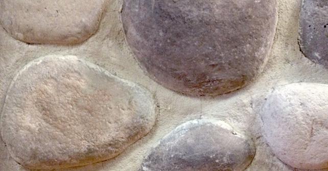 Faux Rock River Rock Stone Selex