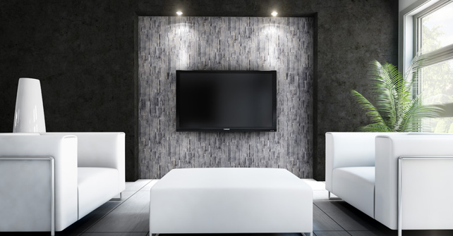 Waiting Room Accent Wall