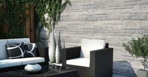 Faux Stone Siding Premium Hand Cut Stone Smoke White