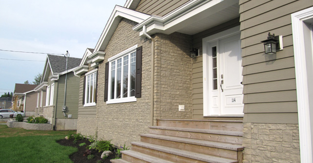 Exterior Accent with Siding