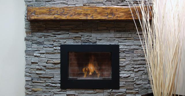 Fireplace Stone Panel