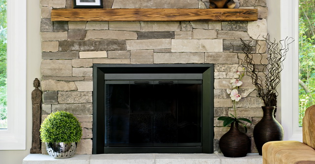Fireplace Stone Facing Natural Stone Veneer