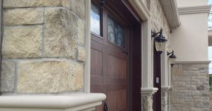 Manufactured Stone Veneer Castle Sandy Buff