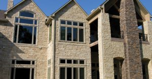 Manufactured Stone Veneer Cathedral
