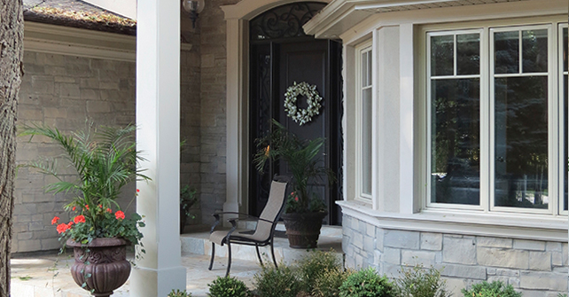 Exterior Wall and Window Accents