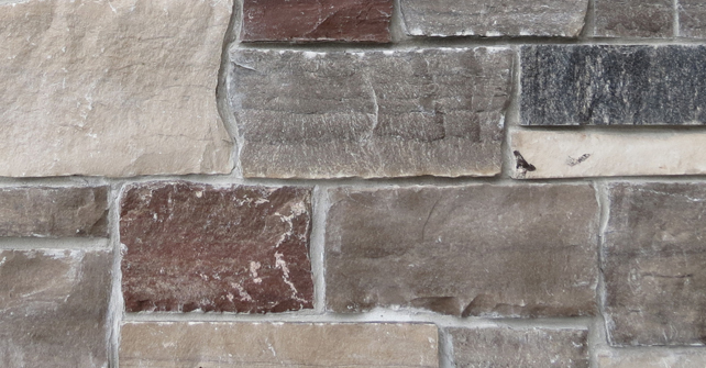 Natural Stone Veneer Rubble Mix Stone Selex