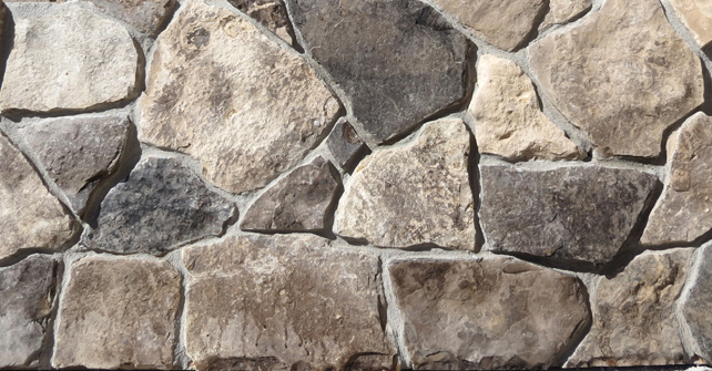Natural Stone Veneer Rubble Mix Stone Selex