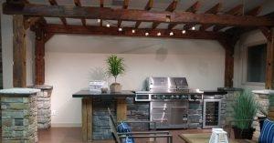Stone Selex Showroom Outdoor Kitchen