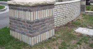 Thin Brick Veneer Canyon Brick Indian Brown and Sandy Buff