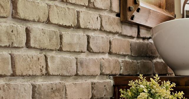 Thin Brick Veneer Indian Brown Brick