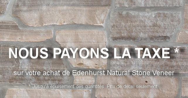 Edenhurst Natural Stone-Veneer Promotion