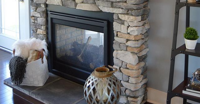 SILVERADO - Dry Stack Fireplace Facade