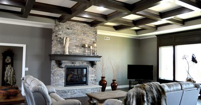 GOLDEN GREY - Fireplace Facade
