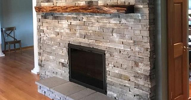 GOLDEN GREY - Fireplace