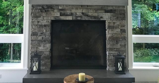 KENTUCKY - Fireplace Facade