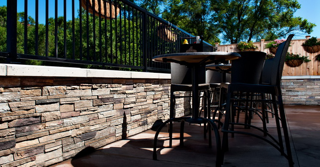Ledgestone Plum Creek - Landscaping Wall