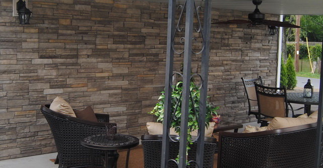 Ledgestone Sterling - Outdoor Living