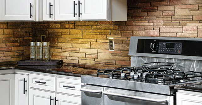 Tight Cut Terra Rosa - Kitchen Backsplash