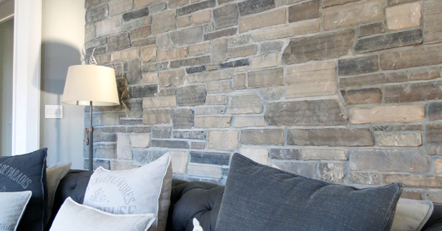 DIY STONE VENEER WITH GROUT NATURAL STONE VENEER ESSEX COUNTY